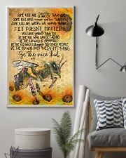 Bee poster 11x17 Poster lifestyle-poster-1