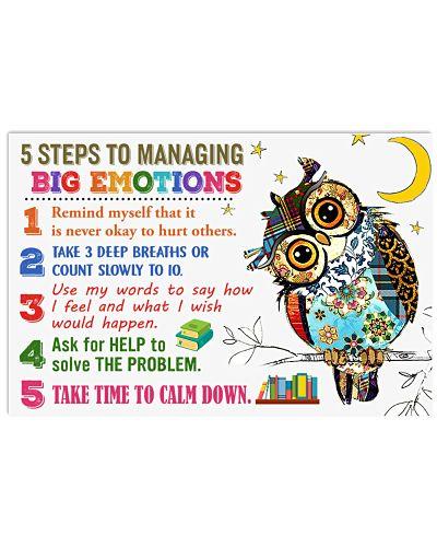 5 Steps to managing big emotions
