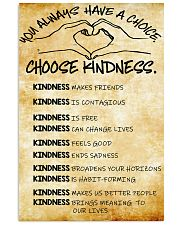 Choose Kindness 11x17 Poster front