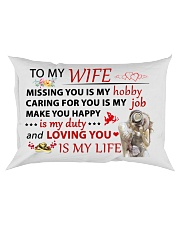 Great gift for your wife Rectangular Pillowcase front
