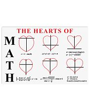 The heart of MATH 17x11 Poster front