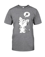 The noise a cat makes Classic T-Shirt front