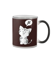 The noise a cat makes Color Changing Mug thumbnail