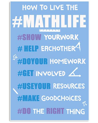 How  to live the MATHLIFE