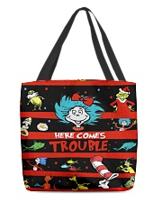 Here comes trouble All-over Tote thumbnail