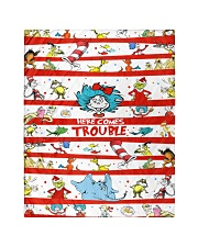 """Here comes trouble Quilt 40""""x50"""" - Baby thumbnail"""