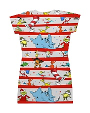 Here comes trouble All-over Dress back