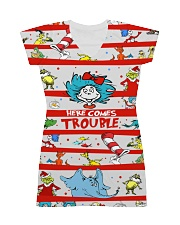 Here comes trouble All-over Dress front