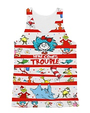 Here comes trouble All-over Unisex Tank thumbnail