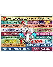 Dr Seuss poster 17x11 Poster front