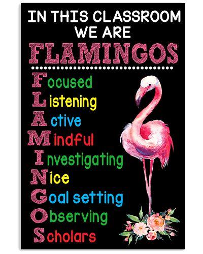 We are Flamingos