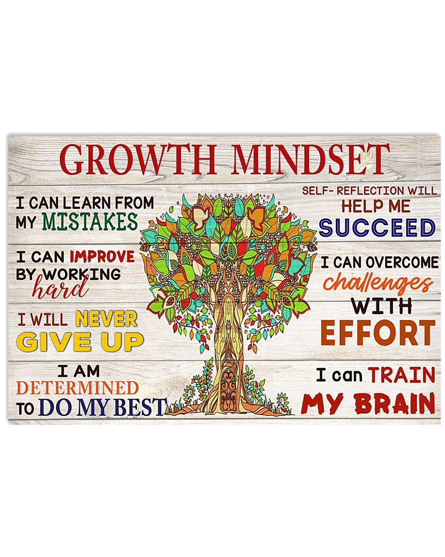 Growth mindset 17x11 Poster