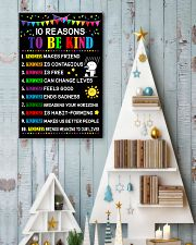 10 Reasons to be kind 11x17 Poster lifestyle-holiday-poster-2