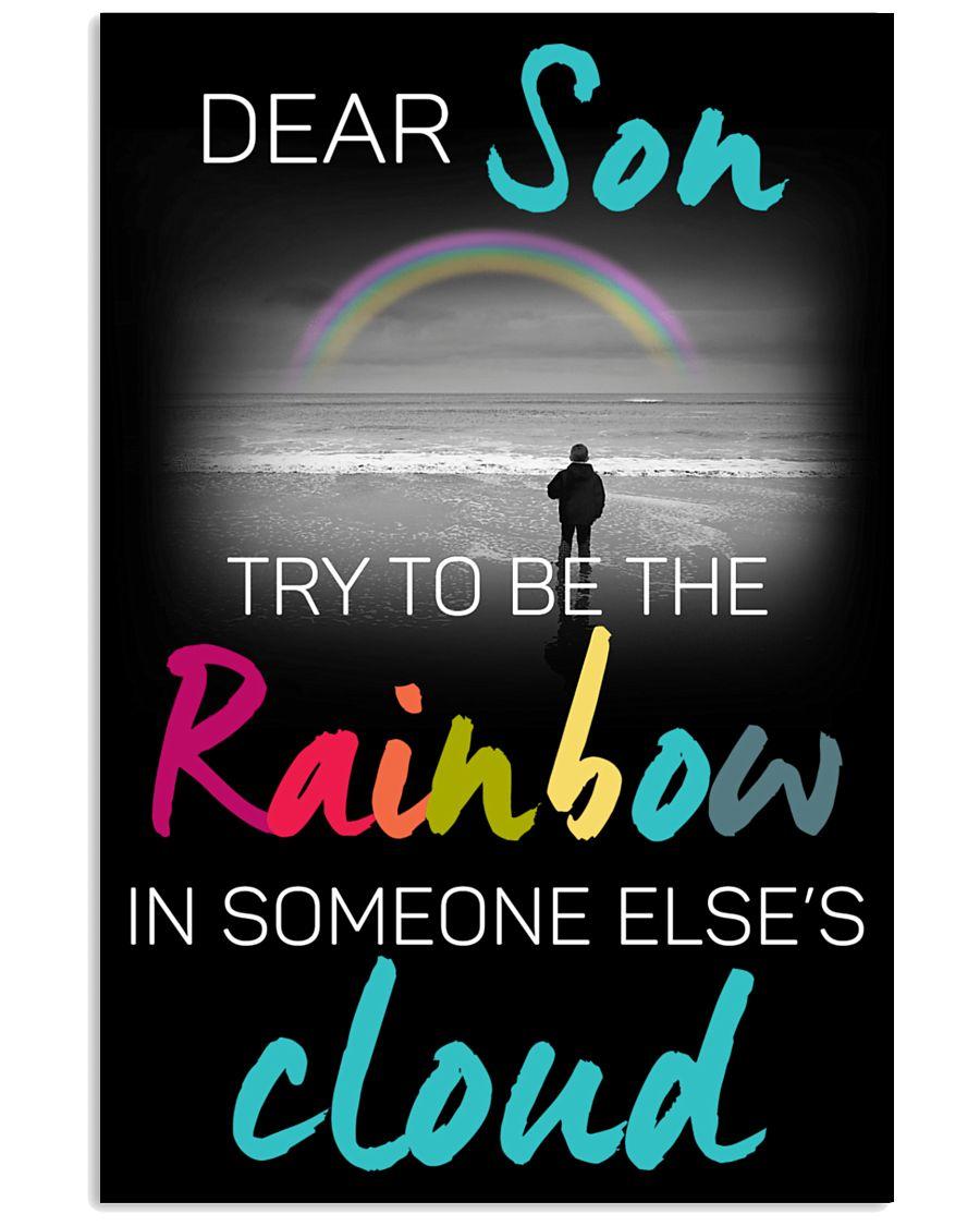 Dear son 11x17 Poster