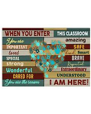 You are the reason 17x11 Poster front