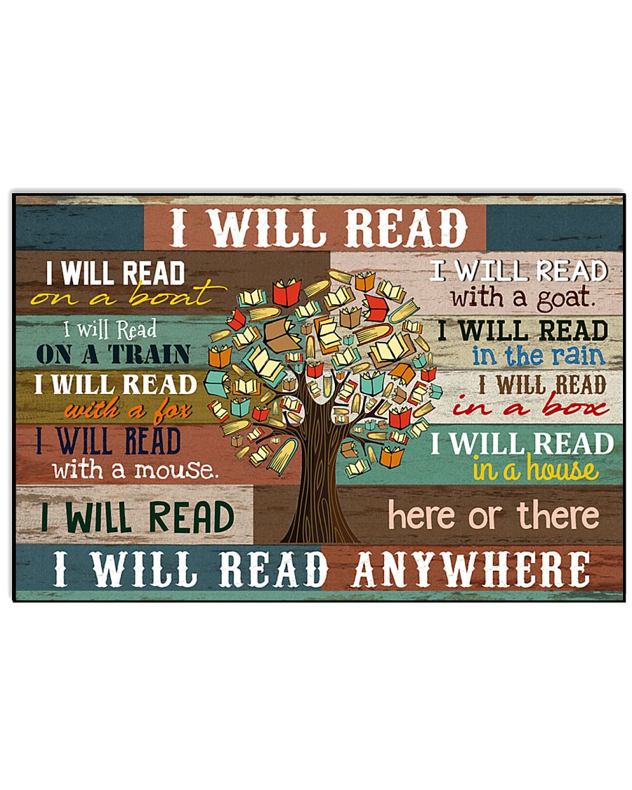 I will read 17x11 Poster