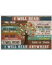 I will read 17x11 Poster front
