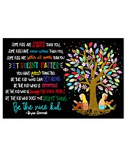 Be the nice kid 24x16 Poster front