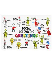 Social Distancing 17x11 Poster front
