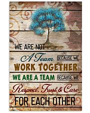 We are a team 11x17 Poster front