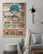 We are a team 11x17 Poster lifestyle-poster-1