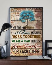 We are a team 11x17 Poster lifestyle-poster-2