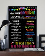 I control 16x24 Poster lifestyle-poster-2