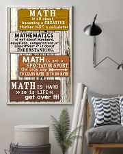 Math quotes 11x17 Poster lifestyle-poster-1