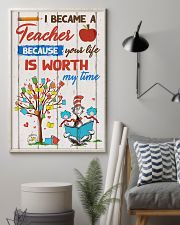 I became a teacher 11x17 Poster lifestyle-poster-1