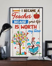 I became a teacher 11x17 Poster lifestyle-poster-2