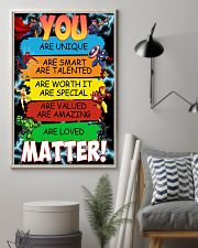 You are loved matter 16x24 Poster lifestyle-poster-1