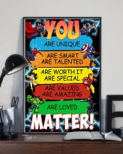 You are loved matter 16x24 Poster lifestyle-poster-2