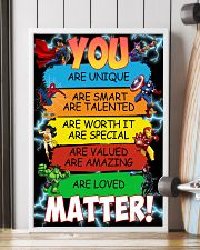 You are loved matter 16x24 Poster lifestyle-poster-4