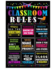 Classroom Rules 11x17 Poster front