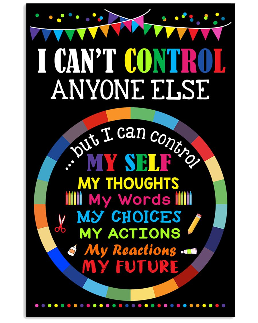 I can control 11x17 Poster