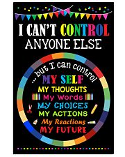I can control 11x17 Poster front