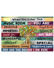Music room 17x11 Poster front