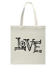 love design Tote Bag front