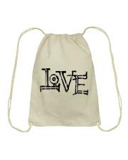 love design Drawstring Bag thumbnail