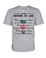 MOTHER IN LAW V-Neck T-Shirt thumbnail