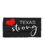 Texas Strong Washable Reusable Fabric Cloth face mask front
