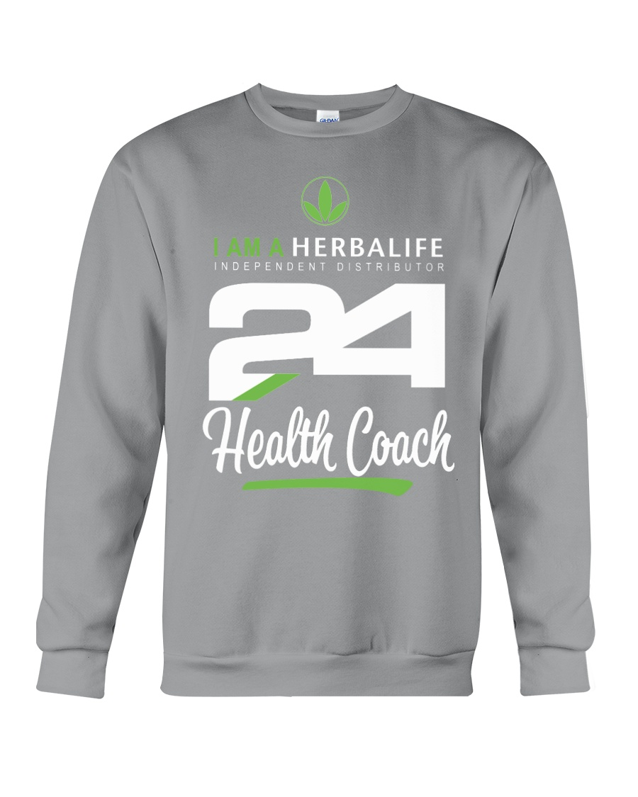 I am a Herbalife24 Health Coach Crewneck Sweatshirt