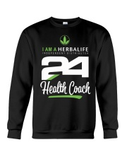 I am a Herbalife24 Health Coach Crewneck Sweatshirt thumbnail