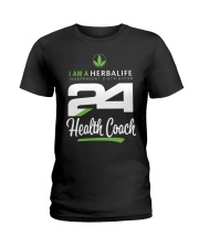I am a Herbalife24 Health Coach Ladies T-Shirt thumbnail