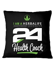 I am a Herbalife24 Health Coach Square Pillowcase thumbnail