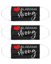 Alabama Strong Washable Reusable Fabric Cloth Face Mask - 3 Pack front