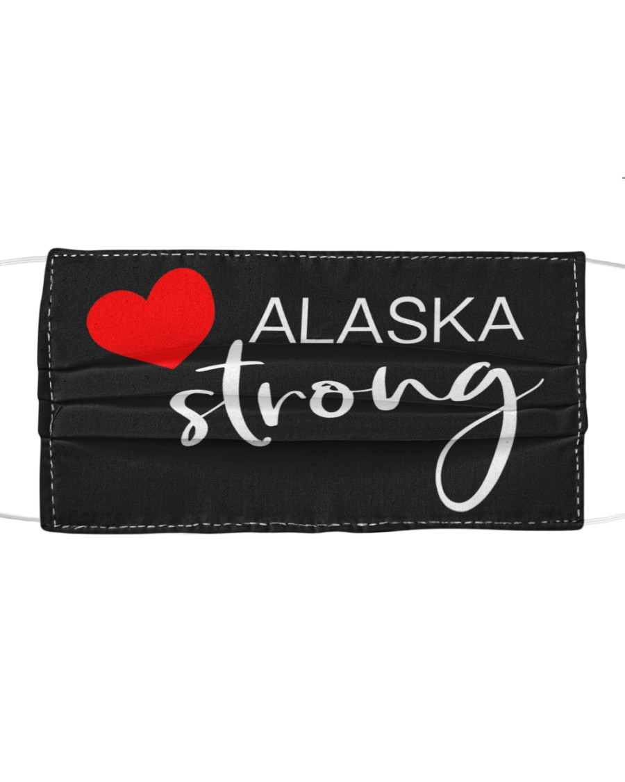 Alaska Strong Washable Reusable Fabric Cloth face mask