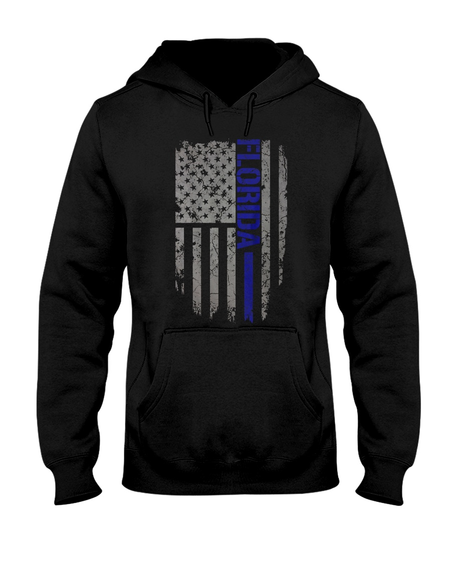 Florida Thin Blue Line Hooded Sweatshirt