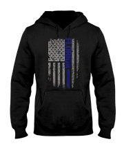 Florida Thin Blue Line Hooded Sweatshirt front