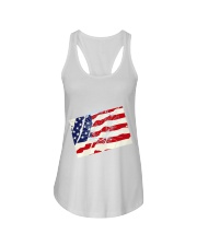 The Men USA Ladies Flowy Tank thumbnail
